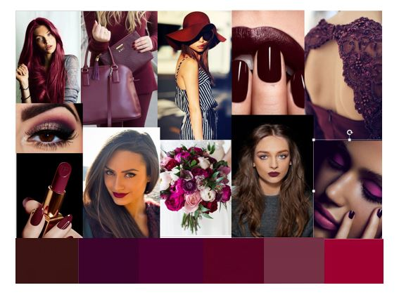 Berry Tone Mood Board