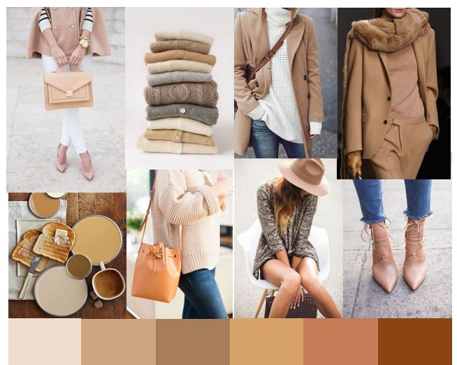 camel Mood Board